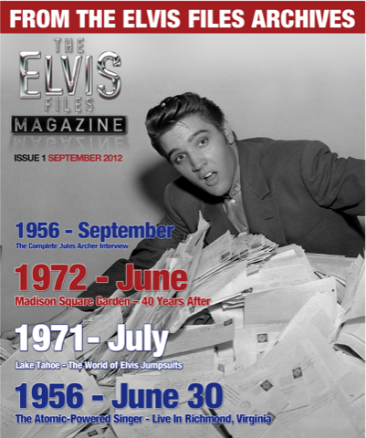 ELVIS FILES Magazine # 1
