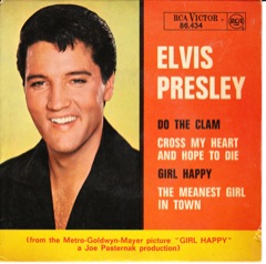 86.434  GIRL HAPPY - RCA Victor Blk / Disc VG+  Code #10
