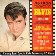 EPA 4383  TICKLE ME - RCA Victor Blk / Disc VG  Code #11