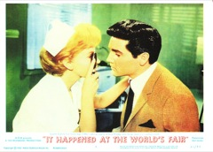 IT HAPPENED AT THE WORLD'S FAIR - Click on Pic To See Full Set