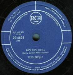 20 6604  Hound Dog / Don't Be Cruel - Belgium
