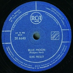 20 6640  Blue Moon / Just Because - Belgium