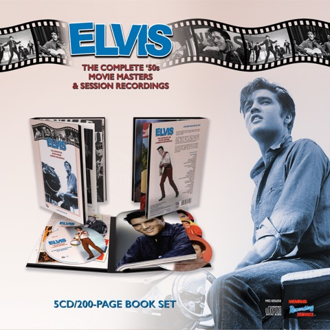 The Complete '50s Movie Masters & Session Recordings (200 Page Book & 5 CD's)