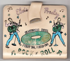 1956 EPE Rock 'n' Roll Billfold Wallet - Saddle Colour