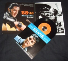 '68 at 40 - Original Hardback Book/Steve Binder Signed Photo & Promo 45rpm