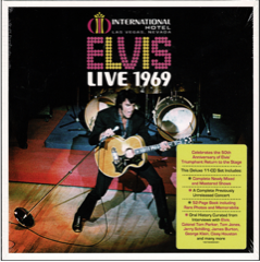 Elvis - Live 1969 11/CD w Booklet