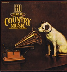 CPL1 4351  60 YEARS OF COUNTRY MUSIC - 2 LP Set