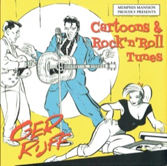 Cartoons & Rock 'n' Roll Tunes Book w/CD