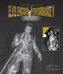 ELVIS Encore Performance V - Hardback JAT