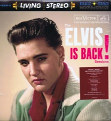 Elvis Is Back - FTD  2 LP Ltd Edition 180gram Vinyl Set - Deleted
