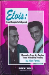 MEMORIES FROM MY TWELVE YEARS WITH ELVIS - Alan Fortas (Sealed)