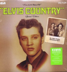 ELVIS COUNTRY - FTD  2 LP Ltd Edition 180gram Vinyl Set (Deleted/Last Copies)