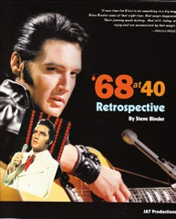68 at 40 A Retrospective - Ltd Ed Softback w/2011 Bonus Cal / Promo 45 & S.Binder Signed Pic