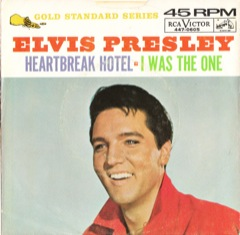 447-0605 Heartbreak Hotel / I Was The One - Code # 4
