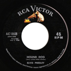 447-0608 Hound Dog / Don't Be Cruel Code # 1 M