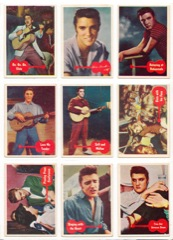 1956 Complete Set of 66 Bubblegum Cards - Code # 1