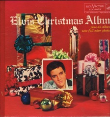 LOC 1035  ELVIS' CHRISTMAS ALBUM - Silver Top 'Long Play' Code#3