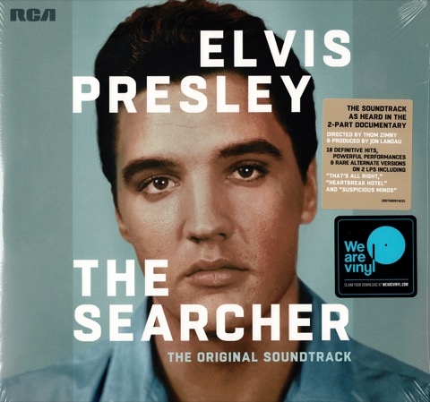ELVIS : The Searcher - 2 LP Set