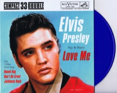 ELVIS BY REQUEST - Blue Vinyl Ltd Edition EP