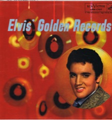 LPM 1707  ELVIS' GOLDEN RECORDS - Silver Top 'Long Play' Code #1
