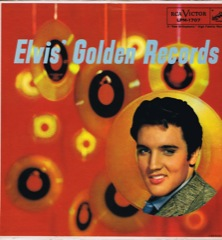 LPM 1707  ELVIS' GOLDEN RECORDS - Silver Top 'Long Play' Code #2