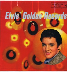 LPM 1707  ELVIS' GOLDEN RECORDS - Silver Top 'Long Play' Code #3