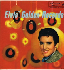 LPM 1707  ELVIS' GOLDEN RECORDS - Silver Top 'Long Play' Code #4