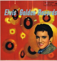 LPM 1707  ELVIS' GOLDEN RECORDS - Silver Top 'Long Play' Code #5