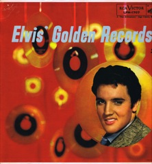 LPM 1707  ELVIS' GOLDEN RECORDS - Silver Top 'Long Play' Code #6