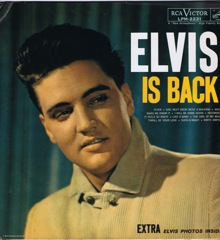 LPM 2231 ELVIS IS BACK - White Top Monaural