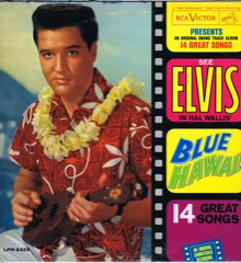 LPM 2426  BLUE HAWAII  - Silver Top 'Long Play' Code #45