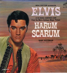 LPM 3468  HARUM SCARUM -  White Top Monaural  M  / VG+