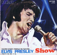 LSP 4445 THE ELVIS PRESLEY SHOW