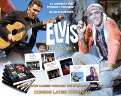 Elvis:The Movies - Hardback/400 Pages (Pre-Order for end October)