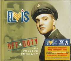 OFF DUTY WITH PRIVATE PRESLEY - Book/CD
