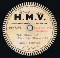 POP 359  All Shook Up / That's When Your Heartaches Begin - UK Demo