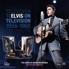 MRS: Elvis On Television 1956- 1960 The Complete Soundtrack Recordings Book/2 CD's - Available NOW