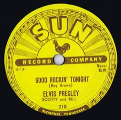 SUN 210 GOOD ROCKIN' TONIGHT / I DON'T CARE IF THE SUN DON'T SHINE - USA