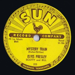 SUN 223  MYSTERY TRAIN / I FORGOT TO REMEMBER TO FORGET - Code #1 USA