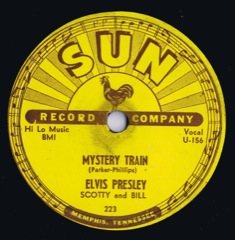 SUN 223  MYSTERY TRAIN / I FORGOT TO REMEMBER TO FORGET - Code# 3 USA