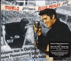 MRS: Tupelo Welcomes Elvis Presley Home Book w/CD
