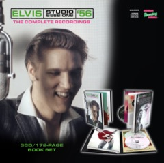 MRS: Elvis Studio Sessions '56 - 3CD/172 Page Book Set - Available Now
