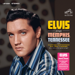 Elvis Sings Memphis Tennessee - FTD 323 2 LP Ltd Ed w/Exclusive Bonus Card