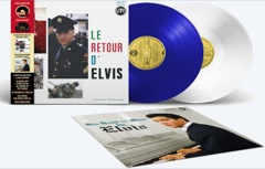 Le Retour d' Elvis / His Hand In Mine - Numbered Ltd Ed