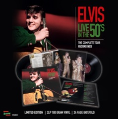 MRS: Live In The 50's: The Complete Tour Recordings 2 LP Set 180gram Vinyl 24 Page Gatefold